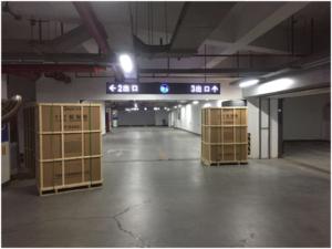 上海高端别墅地下停车库 全方位采用德业除湿机