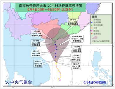高考期间全国各地天气预警,快看看你们是要防暑还是要防台风