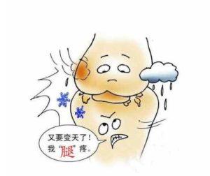 关节炎患者更容易在潮湿的日子感觉疼痛